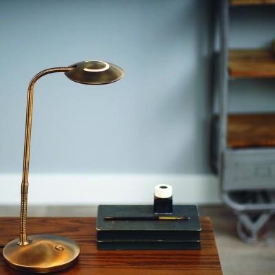 Steinhauer Zenith LED Brons Tafellamp 1-lichts 1470BR