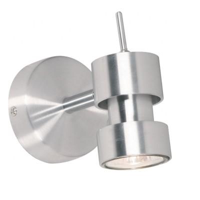 Steinhauer Natasja Staal Wandlamp 1-lichts 5781ST