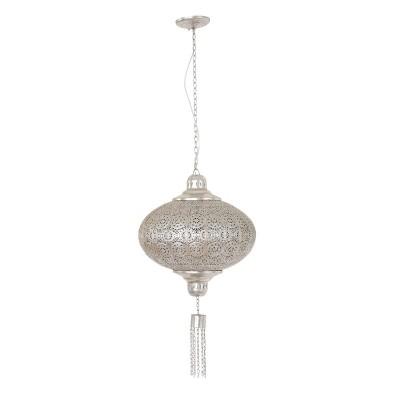 Steinhauer Mexlite Zilver Hanglamp 1-lichts 7921ZI