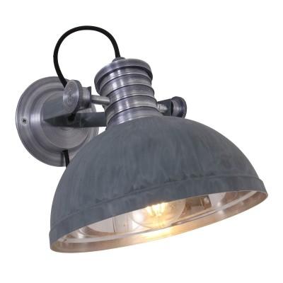 Steinhauer Brooklyn Grijs Wandlamp 1-lichts 7717GR