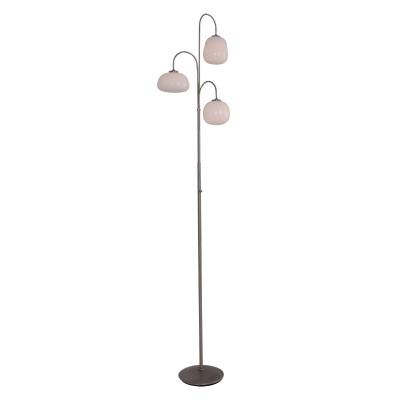 Steinhauer Bollique LED Staal Vloerlamp 6-lichts 1446ST