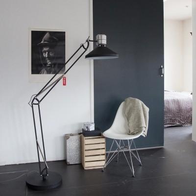 Steinhauer zappa series Zwart Vloerlamp 1-lichts 7701ZW