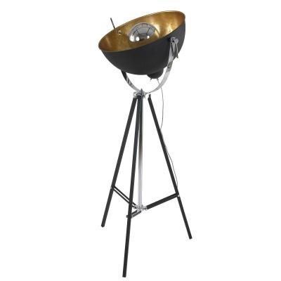 Steinhauer Mexlite Zwart Vloerlamp 1-lichts 7679ZW