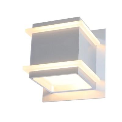 Steinhauer Liberstas LED Staal Wandlamp 1-lichts 7942ST