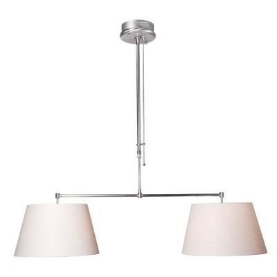 Steinhauer Stresa Staal Hanglamp 1-lichts 9582ST