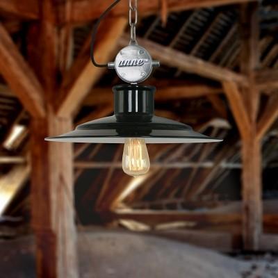 Steinhauer millstone Zwart Hanglamp 1-lichts 7737ZW