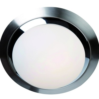 Steinhauer Ceiling and wall LED Chroom Plafondlamp 1-lichts 1365ST