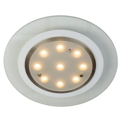 Steinhauer Tocoma Transparant Plafondlamp 1-lichts 7480ST