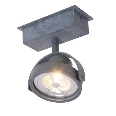 Steinhauer Mexlite Grijs Spot 1-lichts 1450GR