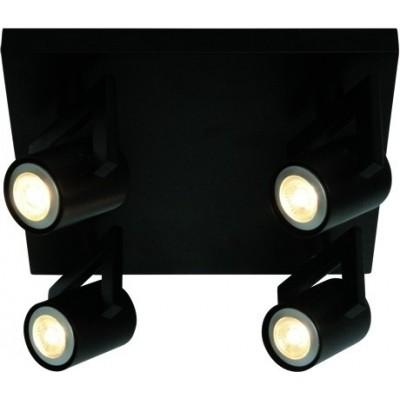 Freelight Valvoled Zwart Spot,Plafondlamp PL9944Z