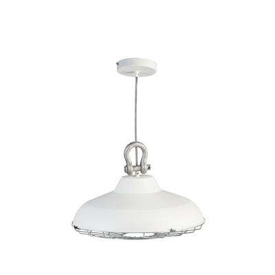 Hanglamp Industry 05-HL4366-31 45cm mat wit