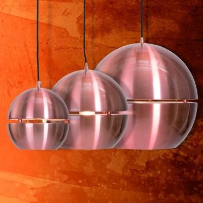 Steinhauer Solar Koper Hanglamp 1-lichts 7534KO