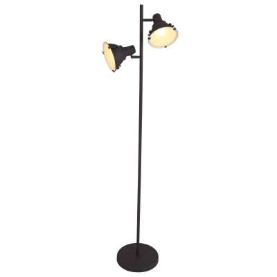 Steinhauer Parade Staal Vloerlamp 2-lichts 6521B