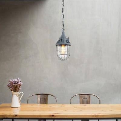 Steinhauer Mexlite Grijs Hanglamp 1-lichts 7890GR