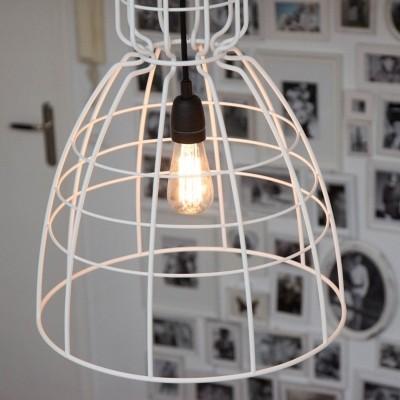 Steinhauer Mark II Wit Hanglamp 1-lichts 7621W