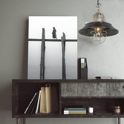 Steinhauer Tuk Staal Hanglamp 1-lichts 7785ST