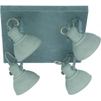 Freelight Santo Grijs Spot,Plafondlamp 30cm PL7644G