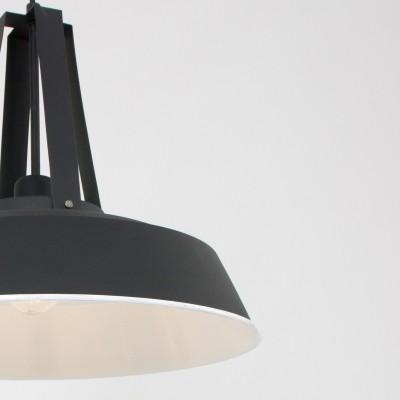 Steinhauer Mexlite Zwart Hanglamp 1-lichts 7704ZW