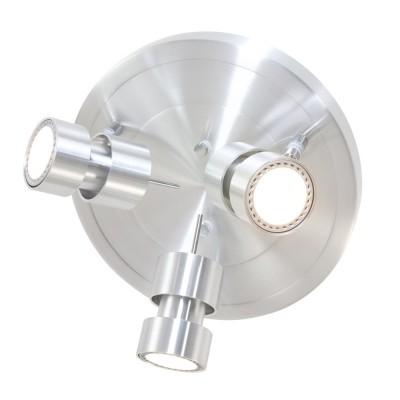 Steinhauer Natasja LED Staal Plafondlamp 3-lichts 7905ST