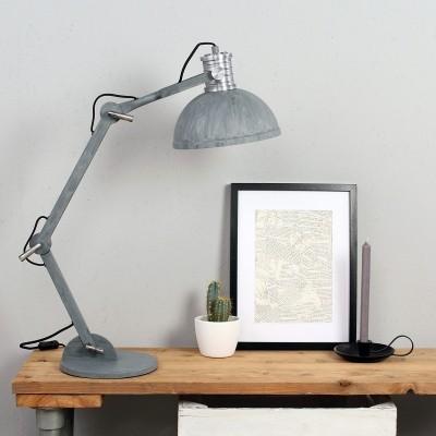 Steinhauer Brooklyn Grijs Tafellamp 1-lichts 7715GR