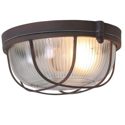 Steinhauer Mexlite Bruin Plafondlamp 1-lichts 1342B
