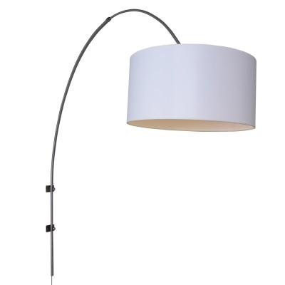 Steinhauer Gramineus Staal Wandlamp Booglamp met Kap 1-lichts 9939ST