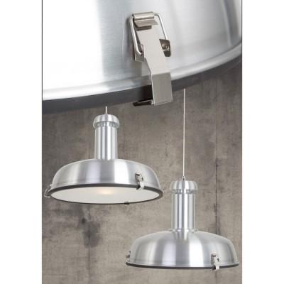 Steinhauer Rococo Staal Hanglamp 1-lichts 7483ST