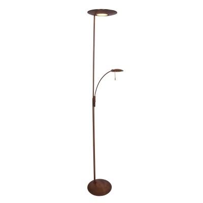 Steinhauer Zenith LED Brons Vloerlamp 2-lichts 7860BR