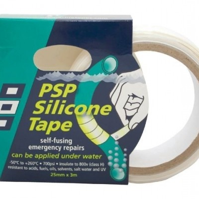 SILICONE TAPE BLAUW 25MM X 3M