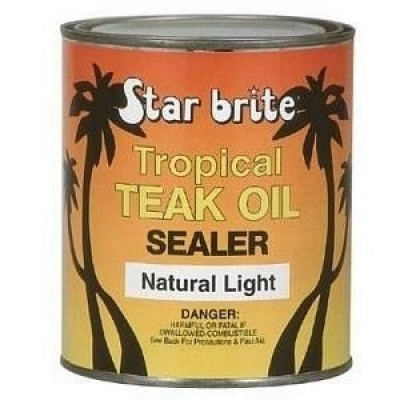 Foto van Starbrite Tropical Teak Oil Sealer - Natural Light