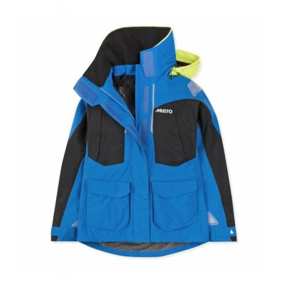Foto van Musto Br2 Offshore Jkt BRILLIANT BLUE / BLACK