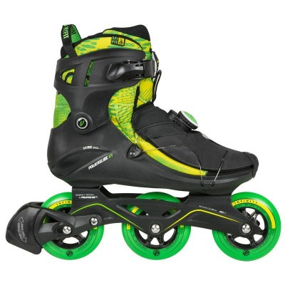Foto van Powerslide VI Cortex TriSkate Men - Black / Green