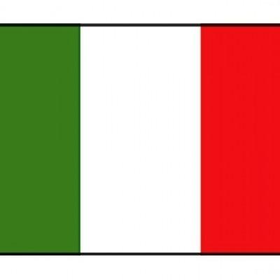 ITALIAANSE VLAG 20X30