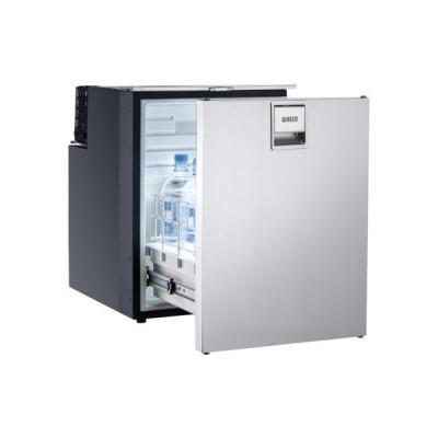 Foto van Ladekoelkast met vriesvak Coolmatic CRD-50S RVS deur
