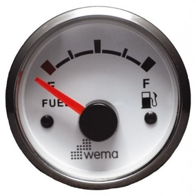 SILVER GAUGE, WIT FUEL