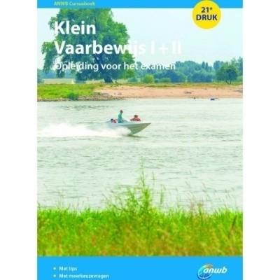 Foto van ANWB cursusboek Klein Vaarbewijs 2015 I+II
