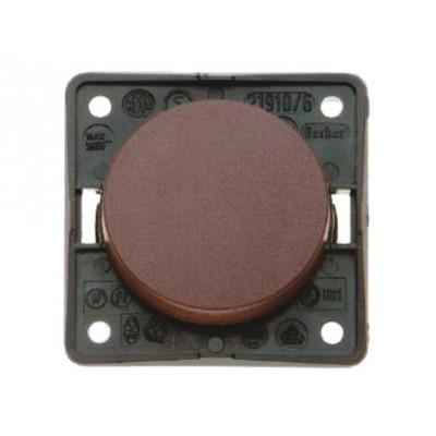 Berker 1-polige wisselschakelaar Kleur: bruin