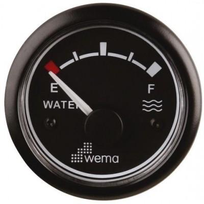 WEMA TANKMETER WATER ZWART