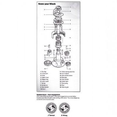 45000708P 58/65ST STRIPPER RING PAI