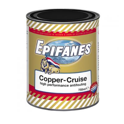 Foto van Epifanes Copper-Cruise koperhoudende antifouling 750 ml.