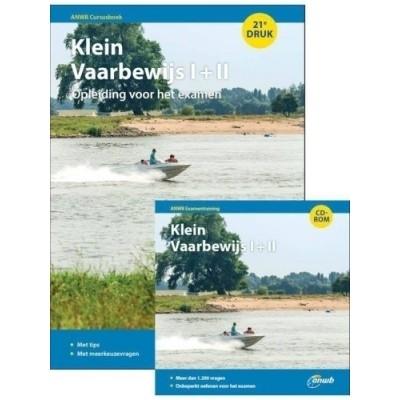 Foto van ANWB cursusboek + CD-rom Klein Vaarbewijs 2015 I+II