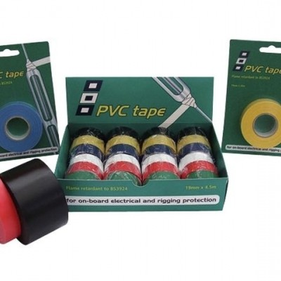 PVC ELECTRICAL TAPE GREEN 19MMX20M