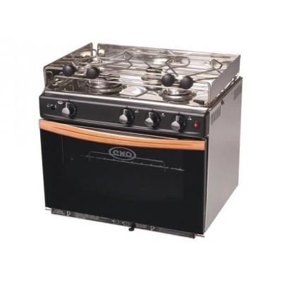 Eno Gascogne 3 pits kooktoestel met oven