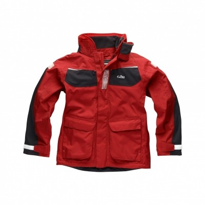 Foto van Gill Junior Coast Jacket Rood