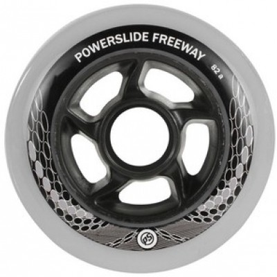 Foto van Powerslide Wheels Freeway 80mm 8-pack incl. lagers en spacers