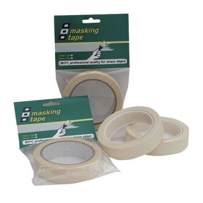 MASKING TAPE HTEMP NATURAL 25MMX25M