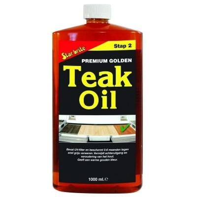 Foto van Starbrite Premium Golden Teak Oil