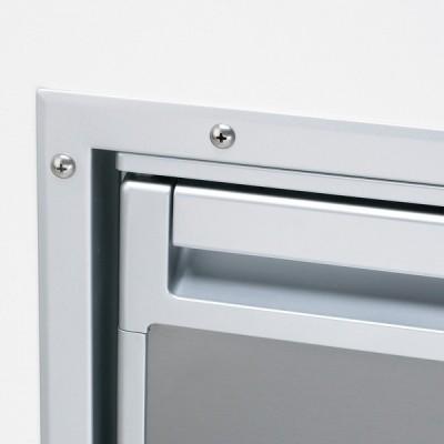 Foto van Flush-mount frame voor CRX/CR/CRD-50S RVS