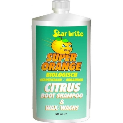 Foto van Starbrite Citrus Boot Shampoo & Wax 500 ml