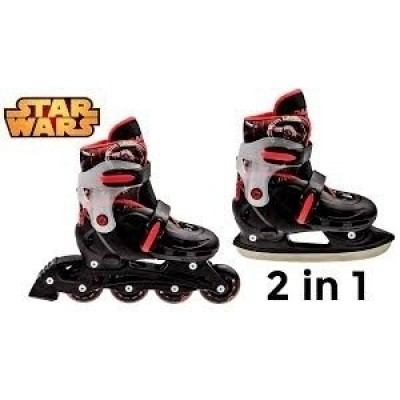 Foto van Powerslide Star Wars Darth Vader Skate 2in1